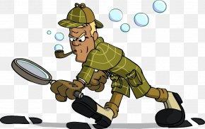 Sherlock - Sherlock Holmes Doctor Watson Cartoon Clip Art PNG