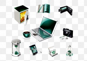 Oven Hourglass Computer - Download 3D Computer Graphics Icon PNG