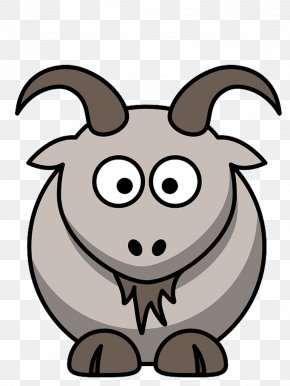 Goat - Goat Drawing Cartoon Clip Art PNG