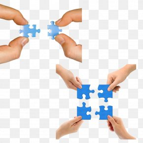 Collaborative Jigsaw Puzzle - Jigsaw Puzzle Puzz 3D Hand PNG