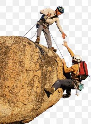 Climbing Team - Sport Climbing Teamwork Rock Climbing PNG