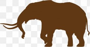 New York Silhouette - Indian Elephant African Elephant Cat Woolly Mammoth American Mastodon PNG