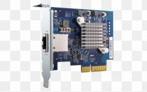 Qnap Systems Inc - 10 Gigabit Ethernet PCI Express Network Storage Systems QNAP Systems, Inc. Network Cards & Adapters PNG