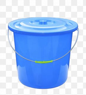 Blue Bucket - Bucket Blue Cleanliness PNG