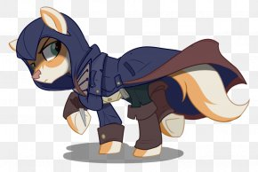 Crossover - Pony Assassin's Creed Rogue Horse Ezio Auditore PNG