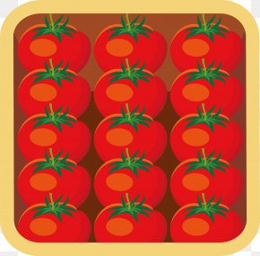 Little Fresh Red Tomato - Tomato Watercolor Painting Gratis Fruchtsaft PNG