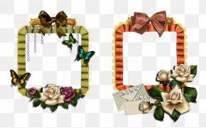Picture Frame - Flower DeviantArt Picture Frames PNG
