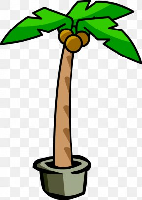 Picture Of A Palm Tree - Club Penguin Igloo Arecaceae Clip Art PNG