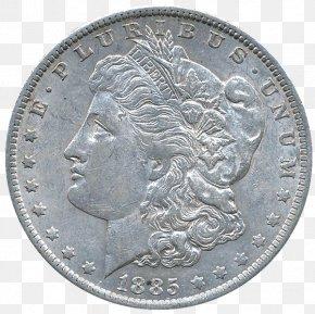Coin - Mexican Peso Dollar Coin Morgan Dollar United States Dollar PNG