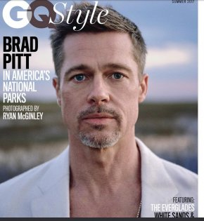 Brad Pitt - Brad Pitt Hollywood Allied Divorce GQ PNG
