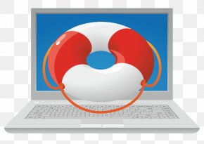 Vector Laptop Spare Tire - Laptop Hard Disk Drive Data Recovery Icon PNG