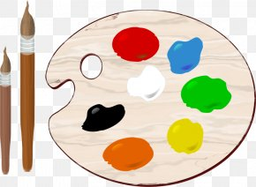 Paint Palette Cliparts - Palette Painting Color Clip Art PNG