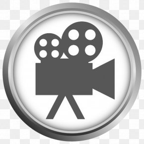 Video Camera - Photographic Film Movie Projector Cinema Clip Art PNG
