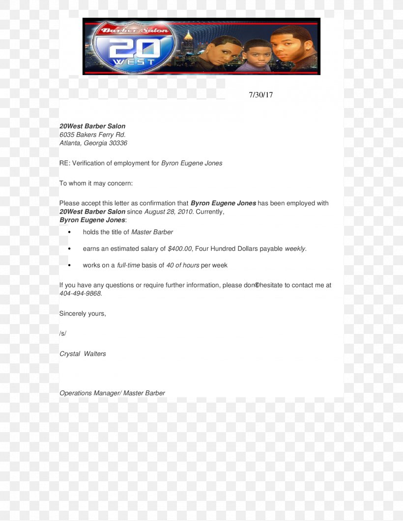 Confirmation Of Employment Letter For Bank from img.favpng.com