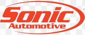 Car - Logo Car Sonic Automotive Charlotte Sonic Drive-In PNG
