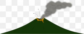 Cartoon Volcano - Volcano Clip Art Mount Etna Lava Openclipart PNG