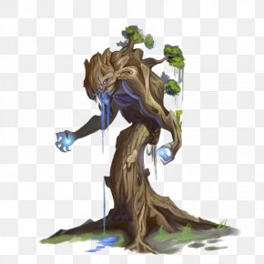 Old Tree Demon In Game - Game Tree PC Game PNG