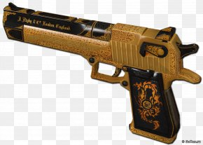Ammunition - Trigger Firearm Ranged Weapon Revolver Air Gun PNG