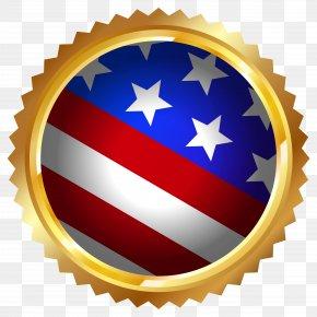 American Flag Seal Transparent Clip Art Image - Cycling Power Meter Schoberer Rad Meßtechnik Crankset Shimano Bicycle PNG