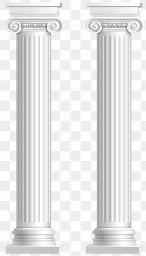 Pillars Transparent Clip Art Image - Product Cylinder Design PNG