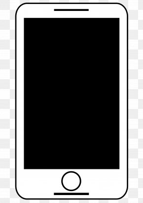 Mobile - Smartphone Telephone Clip Art PNG