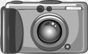 Cartoon Camera - Digital Cameras Photography Clip Art PNG