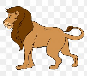 Lion - Lion Drawing Child Art Coloring Book PNG