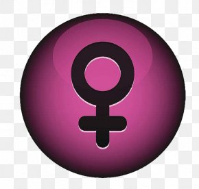 Feminine Symbol - Symbol Woman Cancer Icon PNG