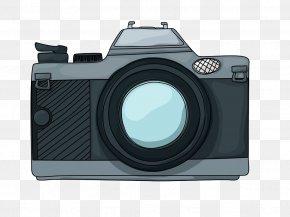 Cartoon Camera - Camera Cartoon Photography Royalty-free PNG