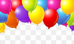 Colorful Balloons - Happy Birthday To You Convite Carte Danniversaire Balloon PNG