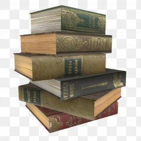 A Stack Of Old Books - Book Stack Gratis PNG