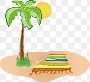 Beach Vector Material PNG
