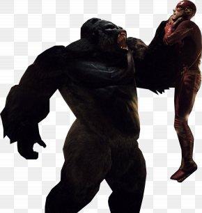 Flash Clipart - The Flash Gorilla Grodd Green Arrow Batman PNG