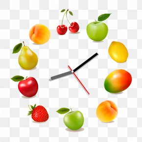 Fruit Clock - Juice Nutrition Facts Label Fruit PNG
