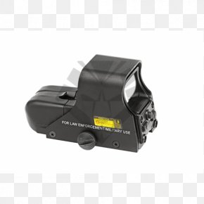 Sights - Reflector Sight Airsoft Red Dot Sight Optics Weapon PNG