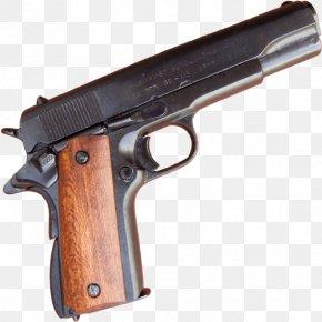 .45 ACP - Trigger Revolver Firearm M1911 Pistol PNG