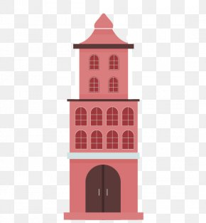 Red Church Building - Church Architecture Building PNG