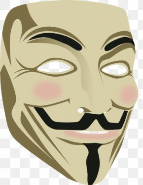 Turmeric Face Mask - Guy Fawkes Mask Gunpowder Plot Clip Art PNG