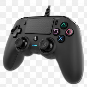 NACON Compact Controller For PlayStation 4 GameCube Controller Game Controllers Twisted Metal: Black PNG