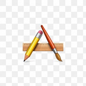 Flat Pencil - Application Software Iconfinder Icon PNG