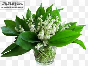 Lily Of The Valley - Lily Of The Valley Flower Bouquet International Workers' Day Birth Flower PNG