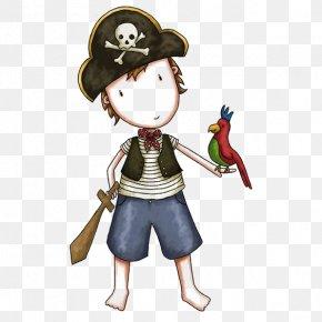 Pirate Boy - Piracy Free Content Clip Art PNG