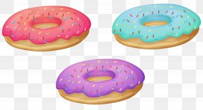 Donuts PNG Clipart Image - Coffee And Doughnuts Bakery Dunkin' Donuts PNG