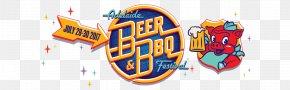 BBQ - Adelaide Beer Festival Cider Graphic Design PNG