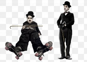 Charlie Chaplin - The Tramp Silent Film Actor Comedy PNG
