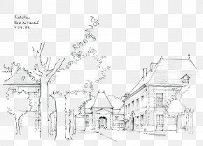 Cartoon Landscape Artwork - Construction Residential District Architecture House Computer File PNG