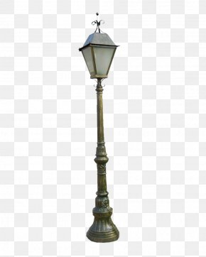 Retro-style Street Light - Oil Lamp Street Light Lighting PNG