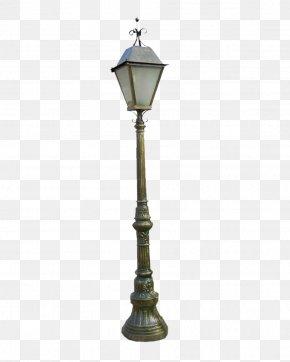Retro-style Street Light - Oil Lamp Street Light Lighting PNG
