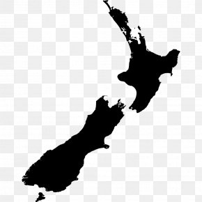 New Zealand - New Zealand Vector Map PNG