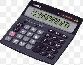 Black Calculator Image - Calculator Casio PNG